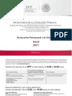 Declaracion Patrimonial de Inicio Del Cargo
