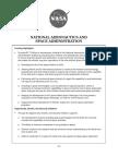 FY15 White House NASA Fact Sheet