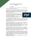 Estructura de Especificaciones técnicas