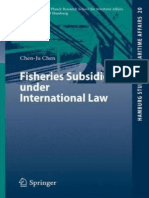 Fisheies Subsidi under International Law