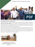23-04-2017 Inicia La Construcción Del Libramiento Tlapa Con Inversión de 75 Mdp.