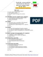 Exams Pharma Facmed-sba