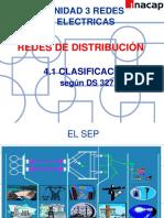 01- Redes de Distribución Clasificación
