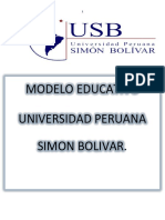 Modelo Educativo Usb