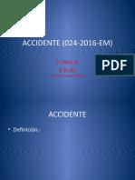 ACCIDENTE (024-2016-EM)
