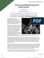 039 - Antony Van Leeuwenhoek
