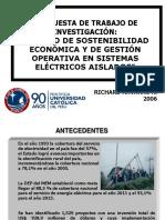 Propuesta de Investigacion PUCP -Richard Navarro 2006