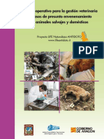 Manual operativo para la gestión veterinaria de casos de presunto envenenamiento de animales salvajes y domésticos  - Proyecto ANTIDOTO.pdf