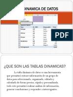 5-Tabla Dinamica de Datos