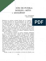 Fundacion de Puebla
