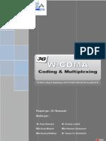 W-CDMA_Coding & Multiplexing