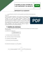Coefficient Securite
