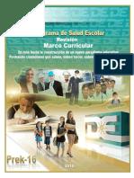 Marco Curricular Salud Escolar