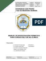 Manual de Investigacion Formativa