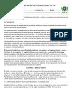 Investigar Los Diferentes Métodos Para Desarrollar y Elaborar Un Programa de Capacitaciones Las Organizaciones