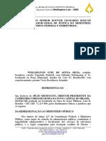 Representação Ministério Público NOVACAP