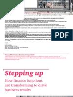 Finance Effectiveness Benchmark Report July 2017