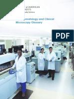 Hematology Glossary CAP 2018