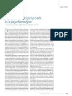 Cinq Concepts Proposésa La Psychanalyse - Jullien