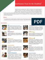 Samarthanam NGO Brochure