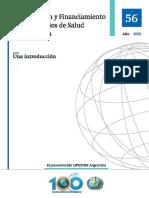 Pub56 - Organización y Financiamiento de Los Servicios de Salud en Argentina