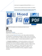 10 Ótimas Dicas Para Você Usar No Programa Microsoft Word