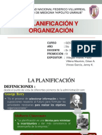 2. Planificación y Organización