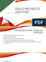 Desarrollo Proyecto Fase I