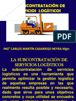 Subcontratacion de Servicios Logisticos