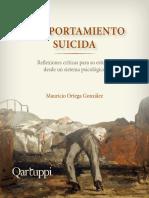 Comportamiento Suicida - Objetividad y Psicologia