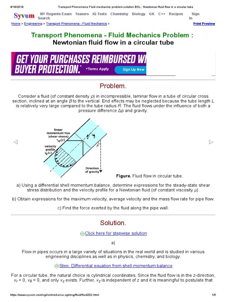 Myke ⁓ Top Ten Fluid Dynamics Flow Problems