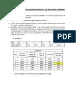 Tarea de Analisis Computacional de Sistemas Mineros
