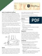 Calcaneal Apophysitis Spanish