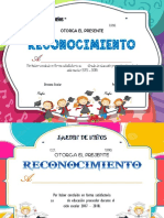 Reco. Preescolar Editable