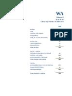 Analisis Hotizontal y Vertical