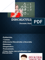 Discalculia - Definicion Causas Diferencias Diagnostico Tratamiento