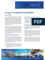 Exiting the Economic Crisis Together