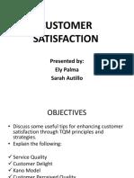 Customer Satisfactions