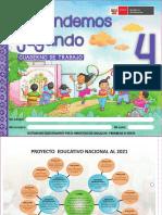 Aprendemos Jugando Cuaderno de Trabajo Para Niños y Niñas de 4 Años