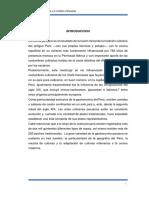 Antropologia de La Comida Peruana