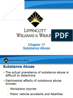 Chaptre 17 - Substance Abuse