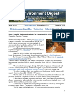 Pa Environment Digest June 11, 2018