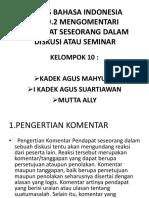 Tugas Bahasa Indonesia Kadek Mahyuda Dan Bangahan