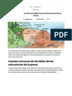 ▷ Causas comunes de las fallas de las estructuras de la presa _ Yo Ingeniero