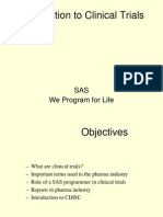 SAS Clinical Trials