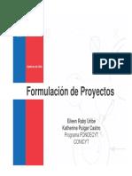 Guia Para La Formulacion de Proyectos Fondecyt PDF 215 Mb