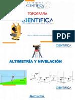 Altimetría y Nivelación
