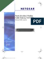 Manual Netgear CG3100D