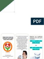 Leaflet Pembatasan Cairan Dan Elektrolit Pada Pasien Hemodialisa