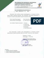 Surat Rekomendasi Uji Kompetensi Dinas Kesehatan Kabupaten Madiun